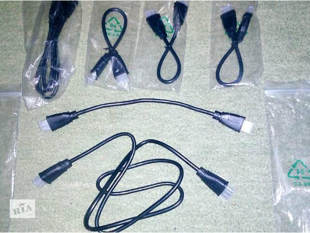 купить бу новые шнуры HDMI        29см - 55гривен 100см - 77гривен в Киеве