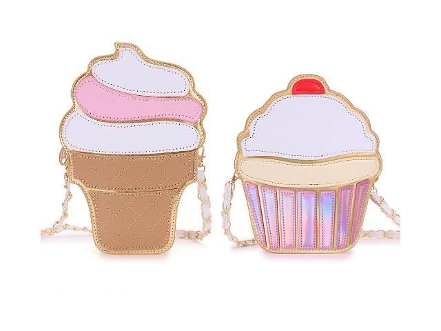 Новые стильные сумки мороженое, пирожное, бриллиант.- объявление о продаже  в Киеве