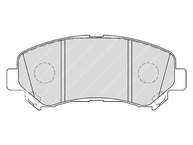 купить бу Новые тормозные колодки комплект для легкового авто NISSAN QASHQAI 06-, X-TRAIL 07- в Черновцах