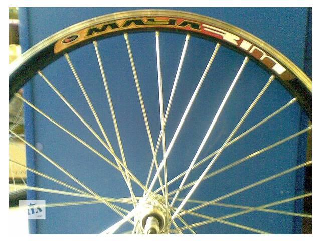 купить бу Новые вело колеса на двойном ободе на усиленной спице 3мм в Харькове