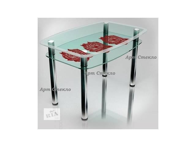 бу Новые обеденные столы из каленного стекла в Дружковке