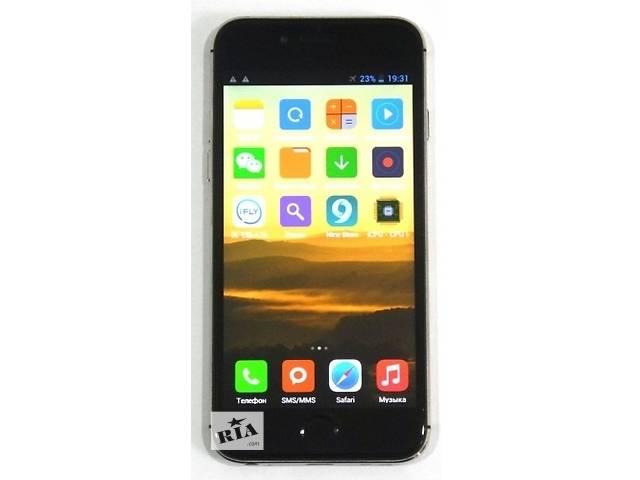 купить бу Новинка iPhone 7 (Plume P6) 4,7 дюйма, 5 Мп, 2 ядра, 1 сим+чехол бампер. в Одессе
