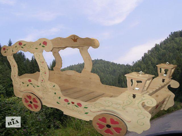 бу Новинка кровать карета для маленьких Принцесс из Карпатских лесов в Киеве