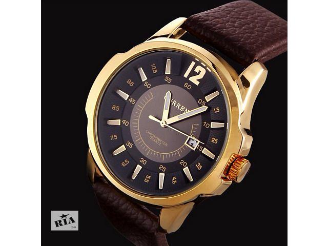 продам Новинка! Мужские часы Curren (Кожаный ремешок) бу в Львове