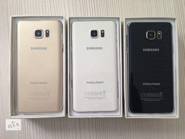 """купить бу Samsung Galaxy Note 5 Огромный Экран 5.7""""! 8-ядер 32GB! Android 5.1.1!  Оплата При Получении! Быстрая Доставка 1-2 дня! в Одессе"""