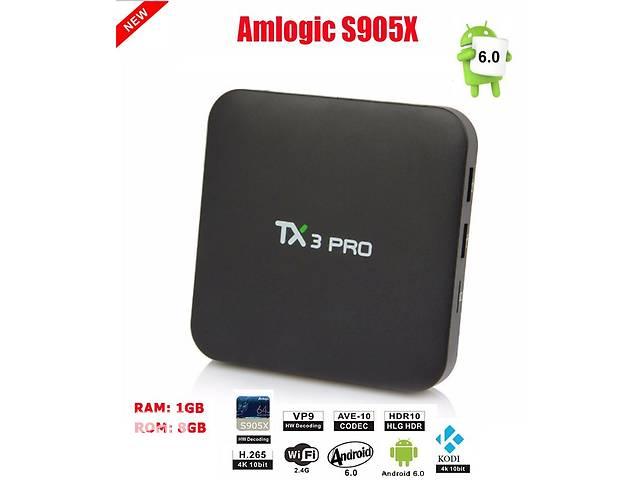 бу TX3 PRO - ультра доступная новинка на Amlogic S905X, Android 6.0, 1/8Gb в Киеве
