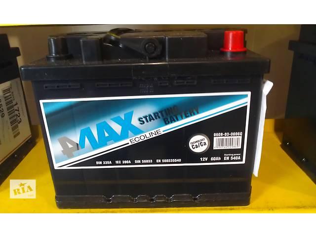 продам Новый 4MAX аккумулятор + гарантия бу в Белой Церкви (Киевской обл.)