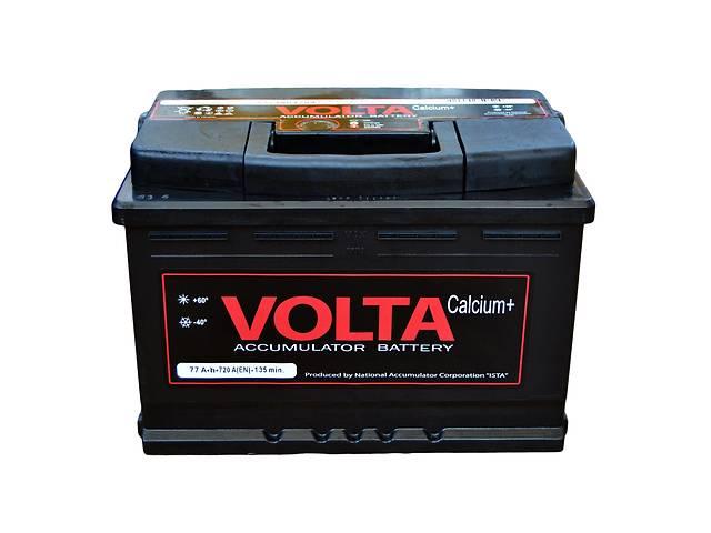 Новый аккумулятор для легкового авто Аккумулятор Volta 6СТ- 77А Euro- объявление о продаже  в Тернополе