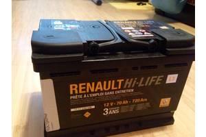 Новые Аккумуляторы Renault Fluence