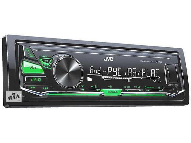 купить бу Новый Автомагнитола JVC KD-X130Q в Житомире