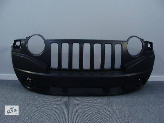 купить бу Новый бампер передний CH1000905 / 68002271AB для авто Jeep Compass 2007-2010 в Киеве
