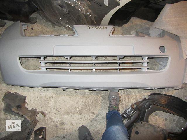 купить бу Новый бампер передний для легкового авто Nissan Micra 2005 в Киеве