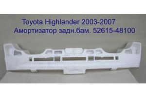 Новые Бамперы задние Toyota Highlander