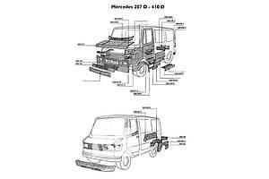 Новые Части автомобиля Mercedes