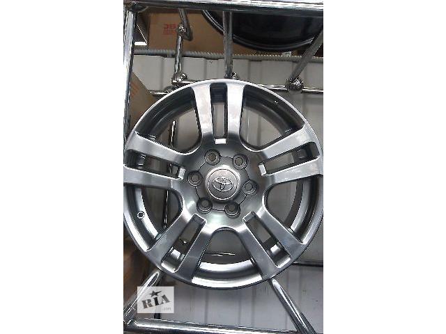 Новые  диски Toyota Land Cruiser Prado 18\6\139.7- объявление о продаже  в Киеве