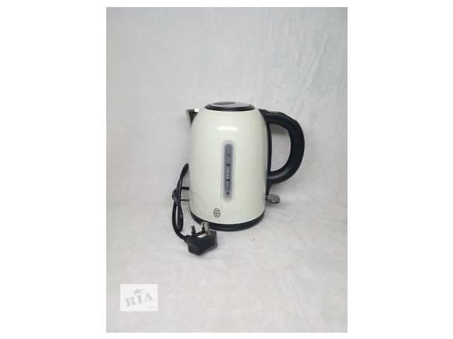 Новый электрочайник Russell Hobbs Westminster jug Cream KTL из Англии- объявление о продаже  в Киеве