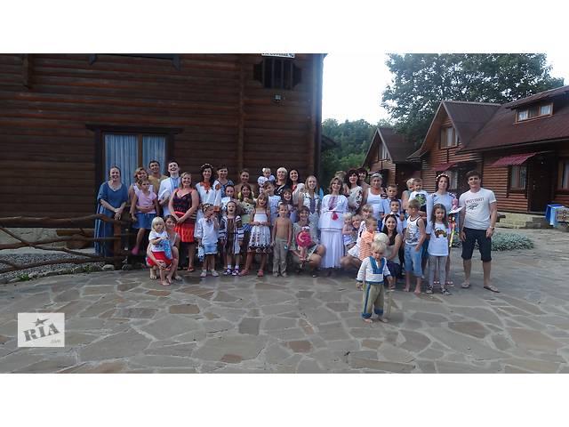 бу Семейный отдых в Карпатах Садыба Затишна  в Украине