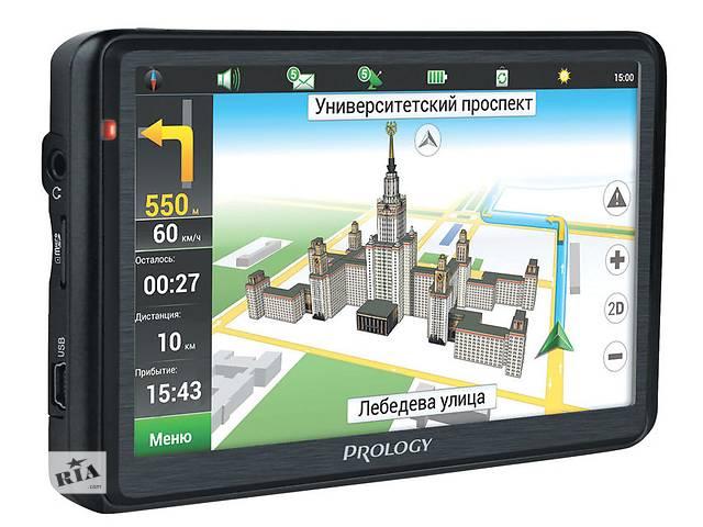 бу Новый GPS навигатор Prology iMap-5600 Black в Житомире