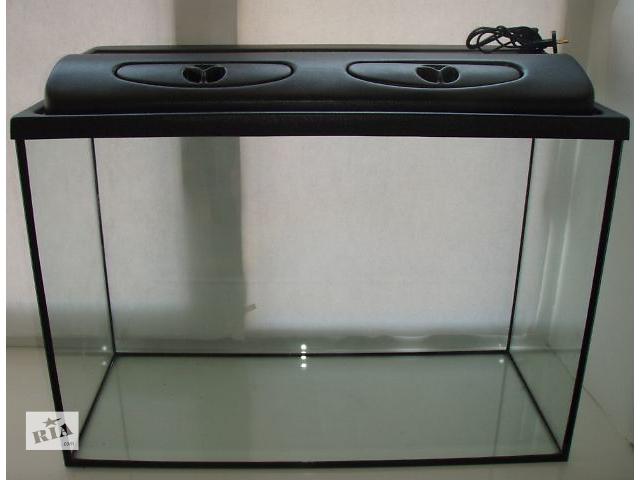 Новый комплект: аквариум 155л + крышка с освещением. Пересылка из днепропетровска- объявление о продаже  в Днепре (Днепропетровске)