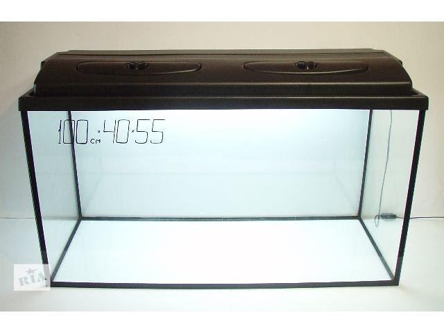 купить бу Новый комплект.Аквариум 220+крышка на две лампы.Пересылка из днепропетровска в Днепре (Днепропетровск)