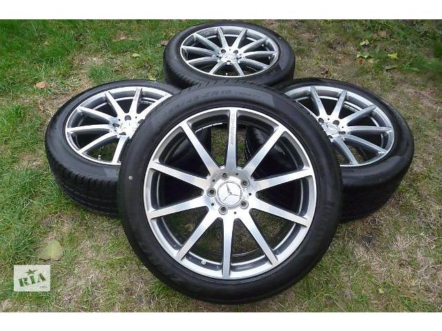 бу Новый комплект коліс для легкового авто Mercedes S-Class w222.w217 coupe.255/45/19.285/40/19.pirelli p zero. в Ужгороде