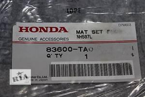 Новые Ковры салона Honda Accord