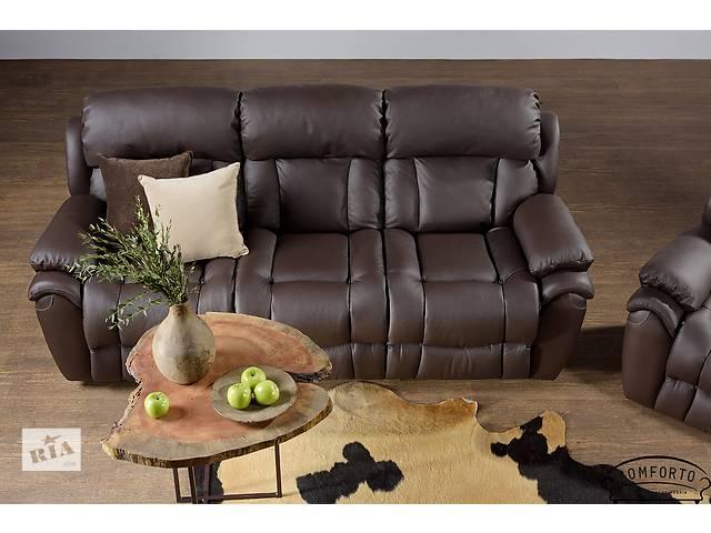купить бу Новый кожаный диван BOSTON. В наличии. Бесплатная доставка в Киеве