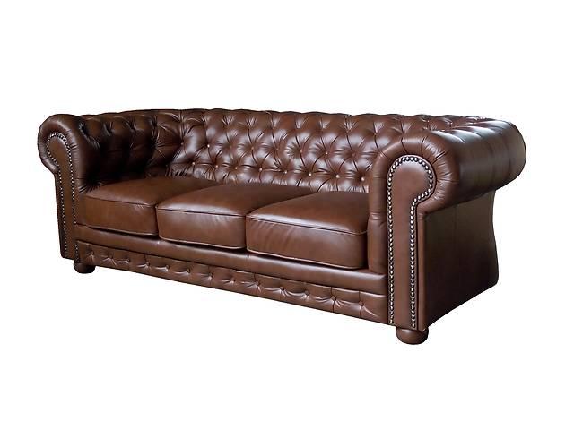 продам Новый кожаный Диван Chesterfield (Честер, Chester) Польша. Гарантия 2 года бу в Киеве