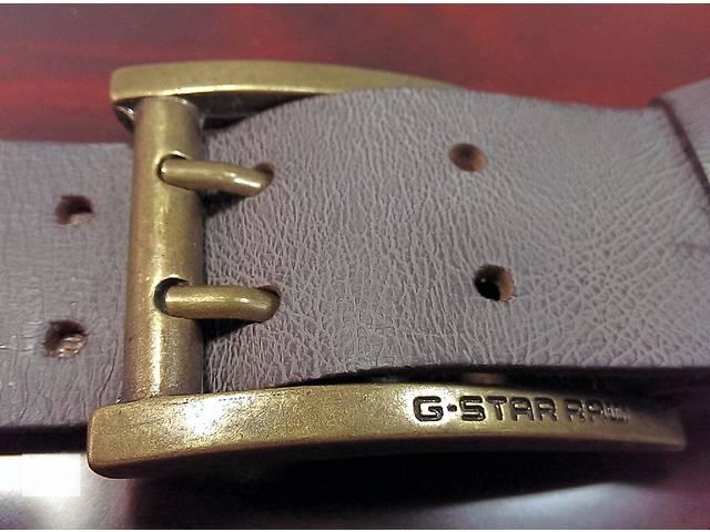 купить бу новый кожаный ремень от G-Star RAW в Киеве