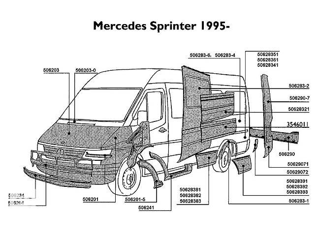 продам Новый кузов для автобуса Mercedes Sprinter бу в Луцке