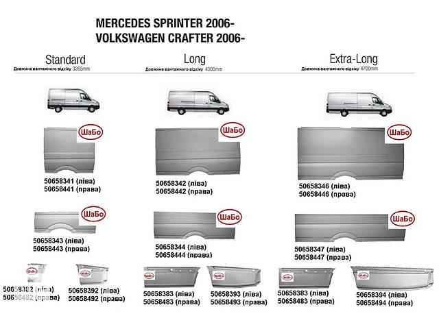 Новый кузов для автобуса Mercedes Sprinter- объявление о продаже  в Луцке