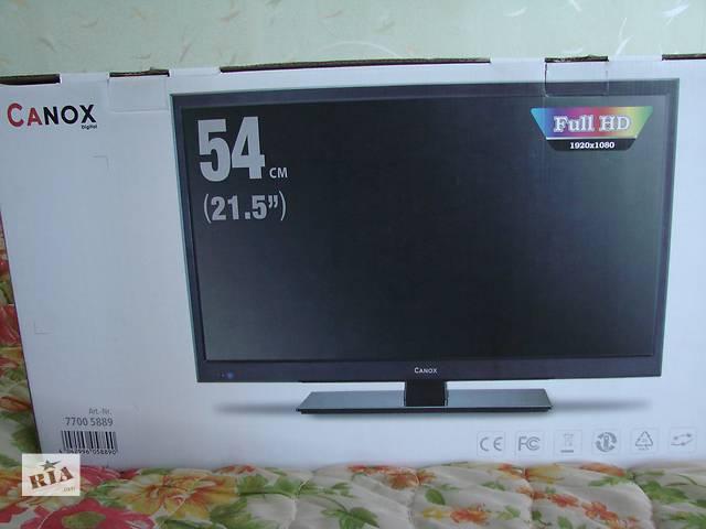 продам Новый LED телевизор CanoX 54.6см.(21,5) из Германии  бу в Ковеле