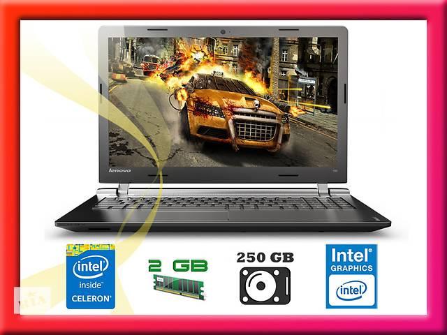 купить бу Новый Lenovo IdeaPad 100-15IBY =INTEL 2.16ГГЦ/2ГБ/250ГБ/DVD в Нововолынске