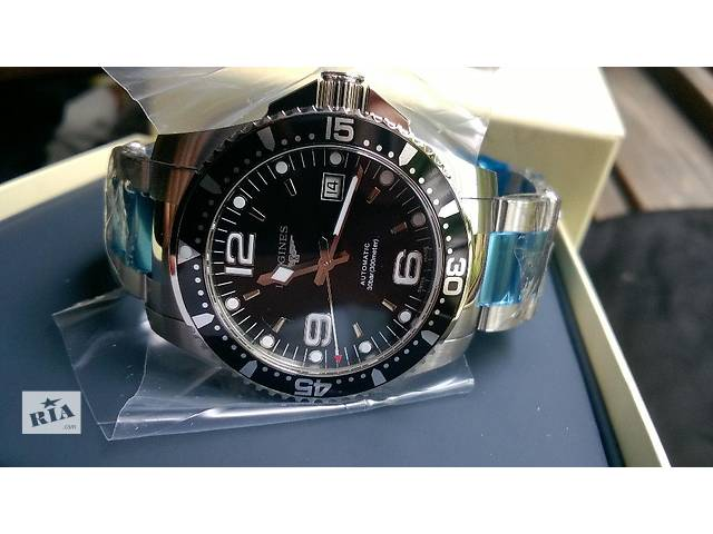 бу Новый! Longines Hydro Conquest Black Automatic в Киеве