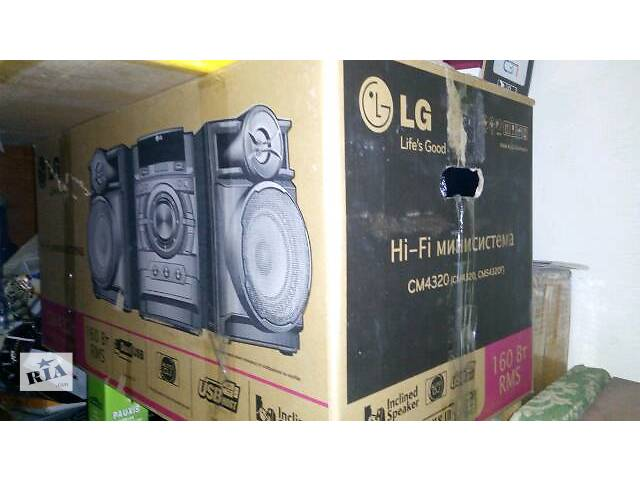 бу новый музыкальный центр c 2 USB  с MP 3 .  CD  FM-RADIO с колонками в Киеве