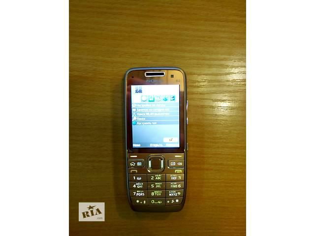 продам •Новий Nokia Е52 Gold! Без предоплати! бу в Киеве