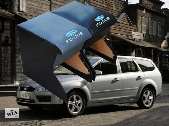 Новый Подлокотник для автомобиля Ford Focus II. Изготовлен из ДСП комбинированного с фанерой, перетянут кож замом. Качес- объявление о продаже  в Ужгороде