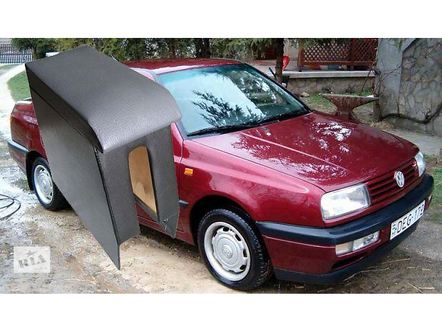 бу Новый Подлокотник для Volkswagen Vento Цвет - Черный (Матовый) Материал - дерево Установка - установка на штатные места в Житомире
