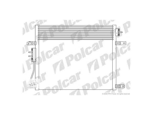 продам Новый радиатор кондиционера для легкового авто Jeep Grand Cherokee бу в Луцке