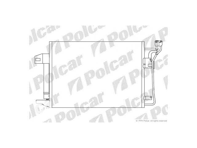купить бу Новый радиатор кондиционера для легкового авто Mazda 6 в Луцке