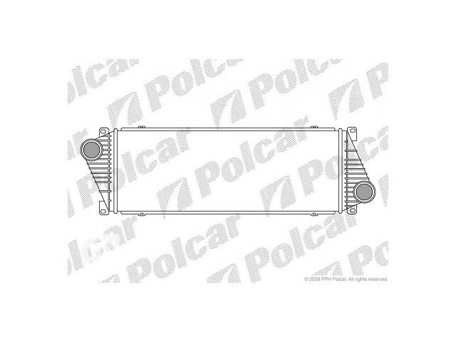 купить бу Новый радиатор интеркуллера для автобуса Mercedes Sprinter в Луцке