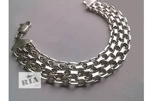 Нові Чоловічі браслети зі срібла