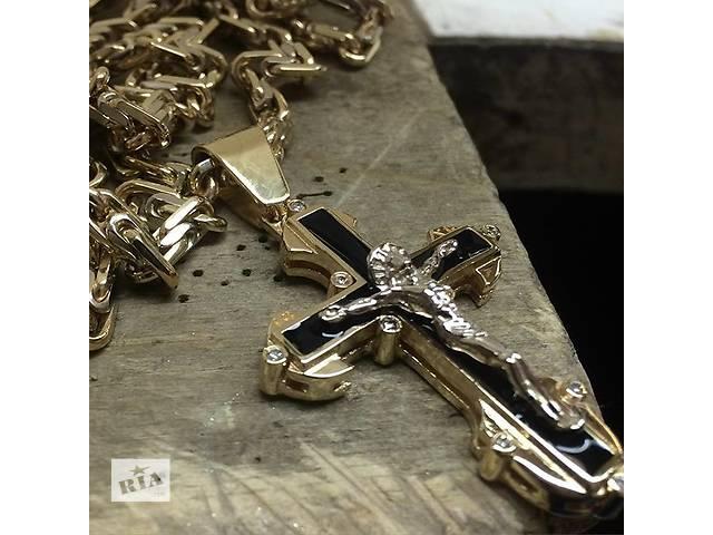 бу Новый серебряный крестик КАРТЬЕ в Киеве