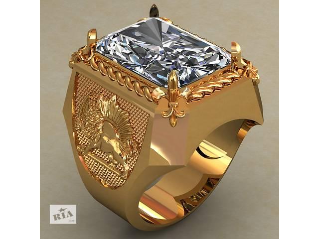 Новый серебряный перстень 925проба- объявление о продаже  в Киеве