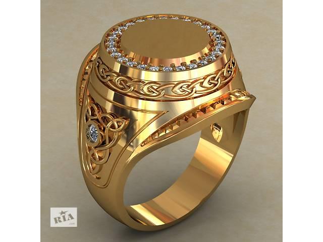 Новый,  серебряный в позолоте перстень.- объявление о продаже  в Киеве