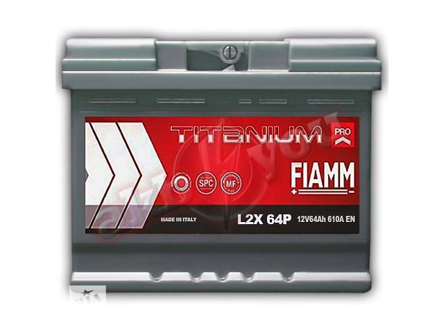 купить бу Новый стартерный аккумулятор для легкового авто Fiamm Titanium PRO 64Ah в Киеве