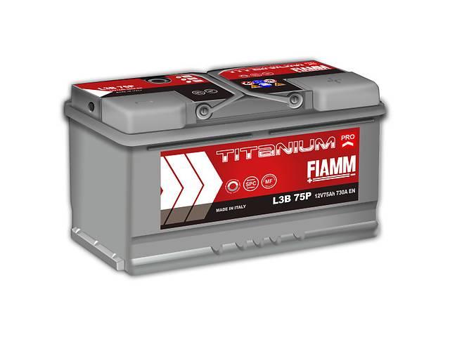 купить бу Новый стартерный аккумулятор для легкового авто Fiamm Titanium PRO 75A в Киеве