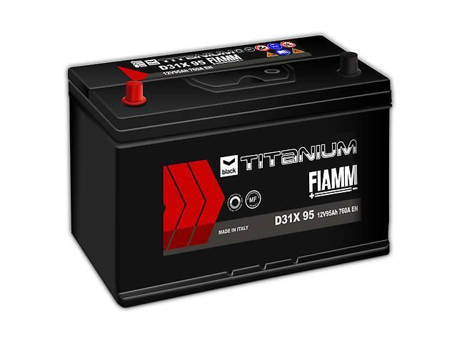 продам Новый стартерный аккумулятор для легкового авто Fiamm BLACK TITANIUM 95A бу в Киеве