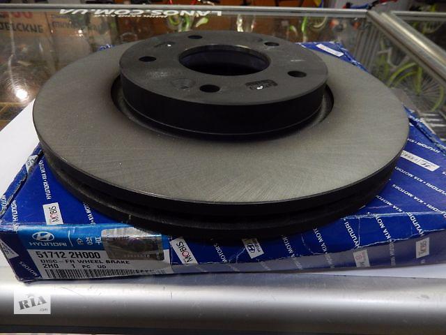 бу Новый тормозной диск для седана Hyundai Elantra в Киеве