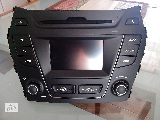 купить бу Штатное головное устройство на Hyundai Santa Fe 3 в Смеле